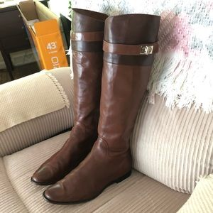 Cole Haan Leather Boots Sz 8.5